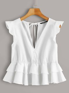Look Fashion, Girl Fashion, Skirt And Top Dress, Country Fashion, Casual Outfits, Cute Outfits, Blouse Styles, Blouses For Women, Street Style