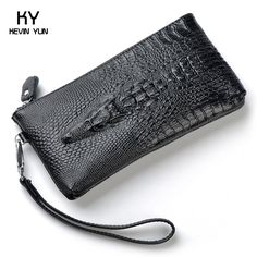 Pas cher Cuir véritable 2015 mode crocodile femmes portefeuilles bourse de  soirée femmes en cuir embrayage 3bb692a6ce3