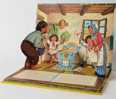 100 x Vojtěch Kubašta Up Book, Book Art, Pop Up Karten, Paper Pop, Paper Engineering, Wonder Book, 3d Origami, Paper Crafts, Diy Crafts