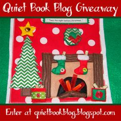 Enter 10/19-10/26 to win a quiet book kit!