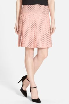 Halogen - Print Pleat Drop Yoke Skirt at Nordstrom Rack. Free Shipping on orders over $100. Sponsored by Nordstrom Rack.