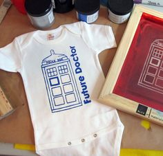 Future Doctor- Doctor Who Baby Onesie