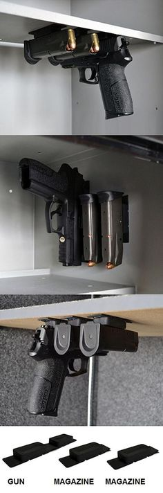 Multi-Mag Magazine Mounting Magnet by Gun Storage Solutions
