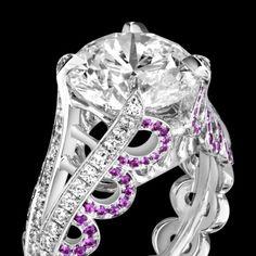 エンゲージリング ホワイトゴールド ダイヤモンド付き - ピアジェ ウェディング G34H0400