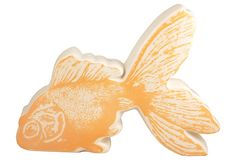 Photorealistic Goldfish Bank on OneKingsLane.com