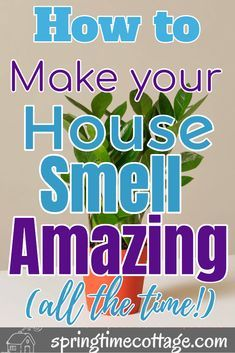 Make your home smell amazing by using these wonderful tips and tricks that will kill bad smells and fill your home with sweet aromas. Use these home smell tips and tricks to make your home smell good all the time. Household Cleaning Tips, Cleaning Checklist, House Cleaning Tips, Diy Cleaning Products, Cleaning Solutions, Cleaning Hacks, Cleaning Items, Household Cleaners, House Smell Good