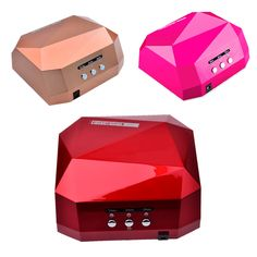 36W UV Lamp Nail Dryer UV LED Lamp for Nails Gel Dryer Nail Lamp Diamond Shape Curing for UV Gel Polish Nail Art Tools