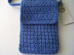 Free Crochet Pattern For Cross Body Bag : Crafts - Change Purses on Pinterest Change Purse, Coin ...