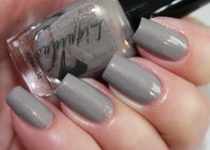 Set In Lacquer: Liquidus Nail Gloss Arsenic