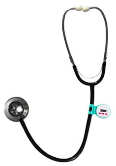 Clasp this timer to the tubing of your stethoscope to keep track of all your medication administrations, intervals or patient rechecks. Ideal for all heathcare professionals with sturdy plastic construction and clasp to fit most stethoscope rubber tubing.  $3.99