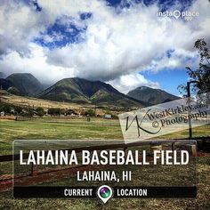 Wanted to get a good #photo of #fog and #mountains and ended up at a #baseball #field #perfectviews #mauifuntimes #begin #lifeisgood #blessed #westkirkley #westphd #vacationworktrip