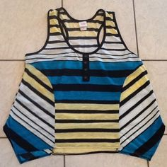 """Racerback Mossimo XL top, fits like L Racerback Mossimo XL top, fits like L. Shoulder seam to hem 25"""" . A little longer on sides. Mossimo Supply Co. Tops"""