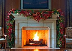 This makes me wish I had a fireplace....