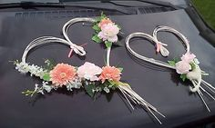 evinocka11 / výzdoba svadobného auta 4 Wreaths, Images, Decor, Wedding Ideas, Search, Decoration, Door Wreaths, Deco Mesh Wreaths, Decorating