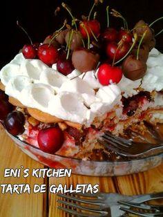 Eni´s Kitchen: Tarta de galletas con sorpresas! - Tort de biscuit...