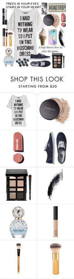 """Relax With Me"" by rosiecheeksandfreckles ❤ liked on Polyvore featuring Moschino, Samsung, Bare Escentuals, Chanel, Vans, Bobbi Brown Cosmetics, Marc Jacobs, NARS Cosmetics, Antonym and tarte"