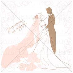 Оригинальные приглашения на свадьбу. Открытки.