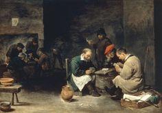 Afbeelding David Teniers - D.Teniers th.Y./ Card Players /Ptg./C17