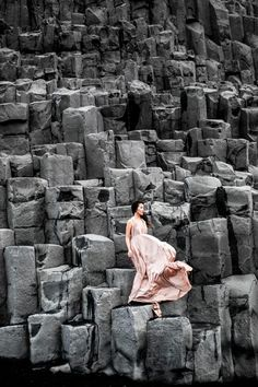 Iceland Black Beach :: Blush love