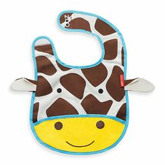 Buy online Skip Hop Giraffe Zoo Tuck Away Bib at best prices at Lyallway. Right choice for Online Shopping for Skip Hop products, friendly customer service and Skip Hop Zoo, Baby Gadgets, Kids Store, Baby Store, Baby Sewing, Baby Bibs, Burp Cloths, Baby Gear, Baby Items