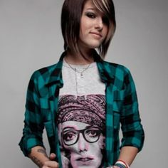 Cassadee Pope. I loved her in Hey Monday and totally admire her for her solo work too! It's so good!