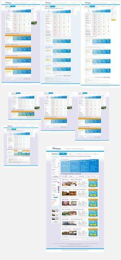 Multivariable testing - Illustration des différentes versions (variations conceptuelles, graphiques et fonctionnelles)