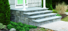 Natural Looking Cement Step Stones In Different Colors