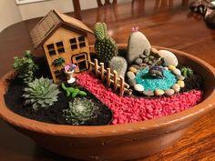 60 Beautiful Fairy Garden Design Ideas For Summer Fairy Garden Pots, Indoor Fairy Gardens, Fairy Garden Houses, Miniature Fairy Gardens, Garden Kids, Indoor Gardening, Gardening Tips, Fairies Garden, Organic Gardening