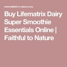 This is the ideal meal on the go for busy people, or anyone wanting a highly nutritious protein shake or smoothie addition. Protein Shakes, Smoothie, Dairy, Essentials, Meals, Nature, Stuff To Buy, Smoothies, Meal