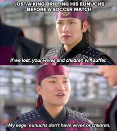 hahahaha xD I need to get around to watching this drama. Love me some Ji Changwook. Best Kdrama, Empress Ki, Suspicious Partner, Kdrama Memes, Love K, Soccer Match, Moon Lovers, Korean Star, Ji Chang Wook