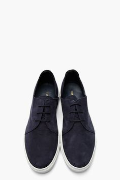 COMMON PROJECTS Navy Nubuck Rec Sneakers