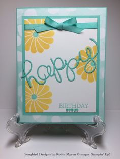 Robin Myren, Songbird Designs by Robin, robinmyren.stampinup.net, Crazy About You by Stampin' Up, papercrafts, homemade cards