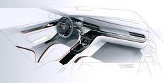 2014 | Volkswagen Midsize Coupe | Gregor Duler (Volkswagen Design Team)
