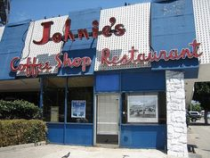 one of the last googie coffee shops in Los Angeles closed in 2000