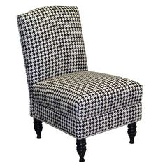 The classic houndstooth print is repurposed to bring charm to any home. #jossandmain