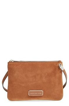 If suede bags are your thing, you might wanna check out the Marc by Marc Jacobs Ligero Double Percy Crossbody Bag. http://thestir.cafemom.com/beauty_style/189896/the_most_popular_handbags_by