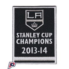 2014 Stanley Cup Final Champions Banner Los Angeles Kings Opening Night Jersey Patch