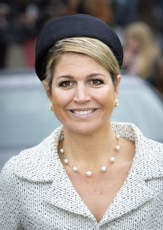 Queen Máxima, May 29, 2013 in Fabienne Delvigne   The Royal Hats Blog