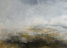 Foreshore oil on canvas 90cm x 125cm by Dion Salvador Lloyd http://www.dionsalvador.co.uk