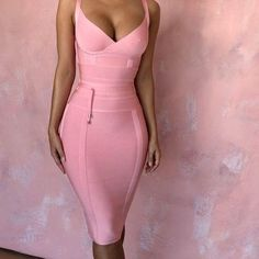 Aphrodite Pink Dress - Pink Dresses - Ideas of Pink Dresses - cerise pink dress Girls Formal Dresses, Party Dresses For Women, Sexy Dresses, Fashion Dresses, Pink Dresses, Summer Dresses, 1950s Dresses, Pink Dress Casual, Modest Fashion