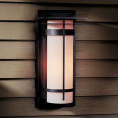 Banded Outdoor Wall Sconce - 305994 $532
