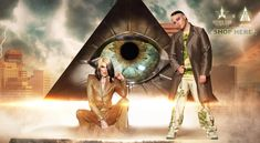 Shane Dawson and Jeffree Star's 'Conspiracy' Makeup Palette Revealed Rose Gold Brush Set, Travel Brushes, Occult Symbols, Star Makeup, Artists And Models, Shane Dawson, Make Up Collection, Makeup Palette, Eyeshadow Palette