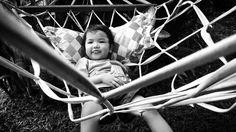 This afternoon at aunty @anggyaolga's frontyard hammock. #littleandbrave #cute #cutekidsclub #ig_kids #instagood #instagram #instadaily #bw #bnw #blackandwhite #hammocklife by @ajustahirobumi
