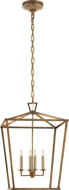 "DARLANA MEDIUM LANTERN Height: 24 1/2""  Width: 17""  Canopy: 6"" Round  Wattage: 4 - 60 Watt Type C  Socket: Candelabra  price$630.00"