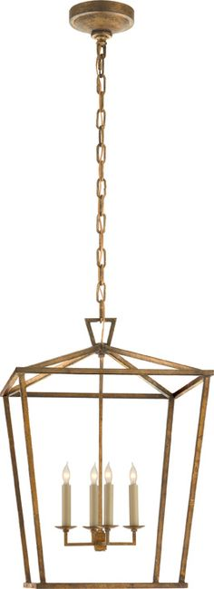 Example of updated brass...this would look great in your house...DARLANA MEDIUM LANTERN