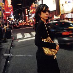 I love this album cover so much. PJ Harvey- Stories From the City, Stories From the Sea