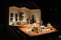 The Odd Couple. Dallas Theatre Center. Scenic design by Timothy Mackabee.