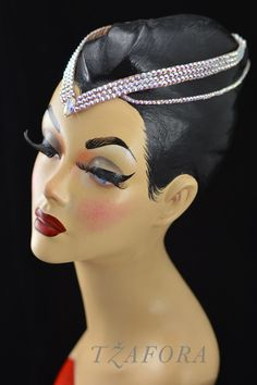 Ballroom jewelry & accessories - headband. Made from all Swarovski. Please…