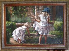 Net eenmaal kleinOil on canvas  750 x 1100 (unframed size)