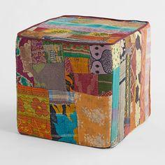 Vintage Kantha Cube - Shop Road Less Traveled
